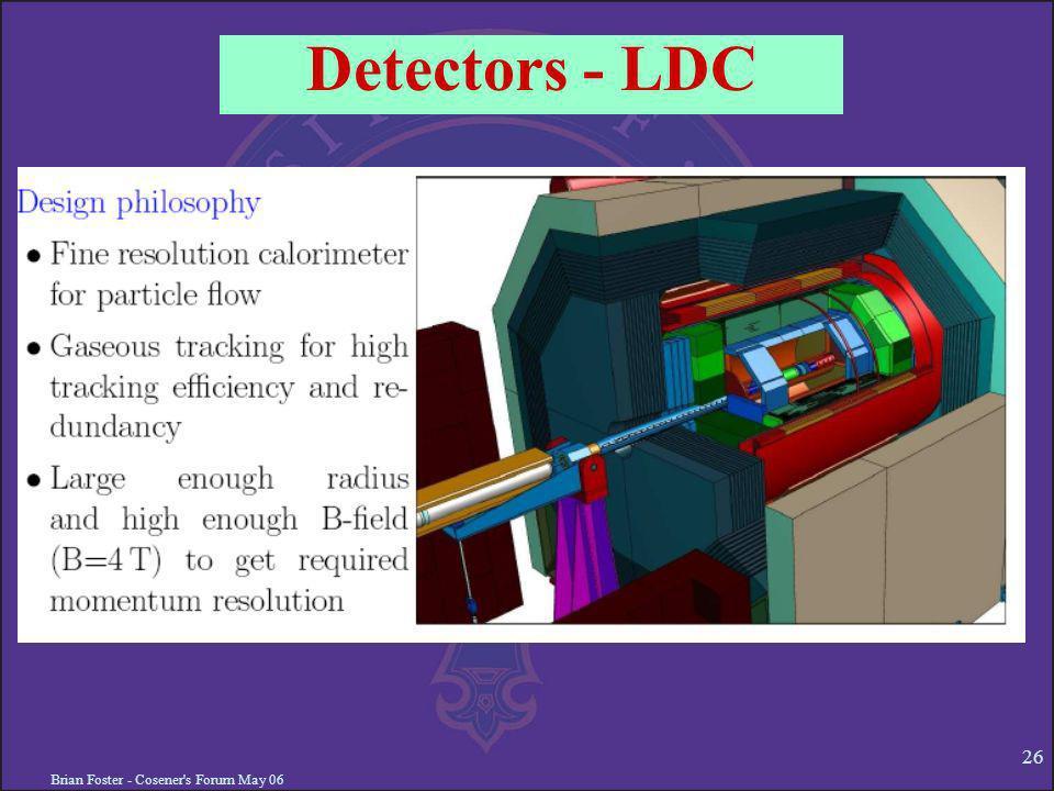 Brian Foster - Cosener's Forum May 06 26 Detectors - LDC