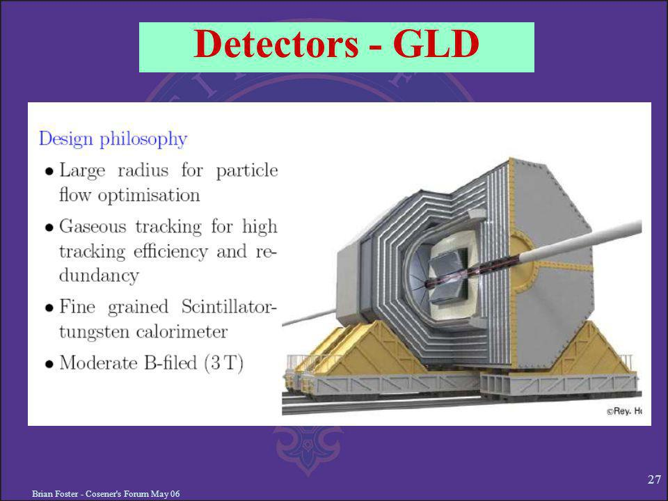 Brian Foster - Cosener's Forum May 06 27 Detectors - GLD