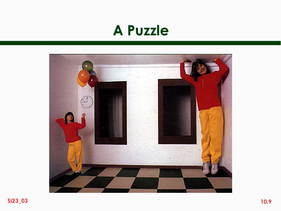 10.9 Si23_03 A Puzzle