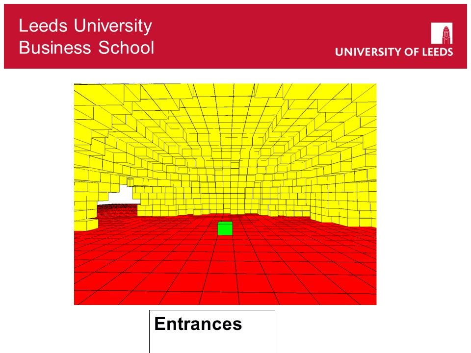 Leeds University Business School Entrances