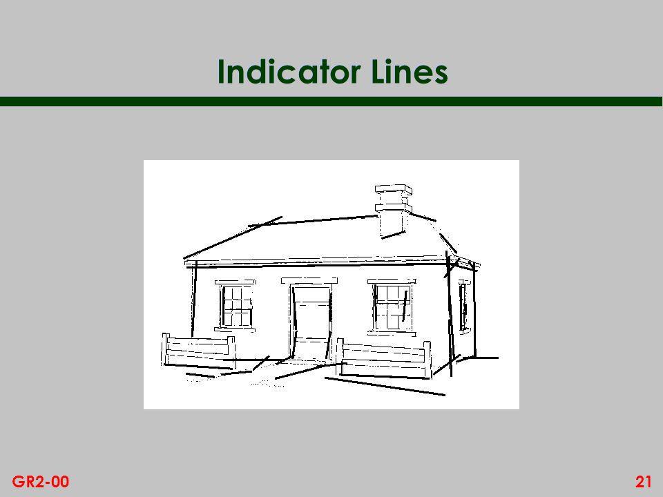 21GR2-00 Indicator Lines