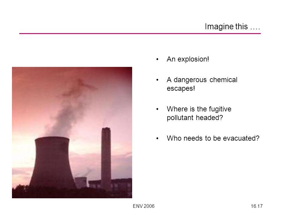 ENV 200616.17 Imagine this …. An explosion. A dangerous chemical escapes.