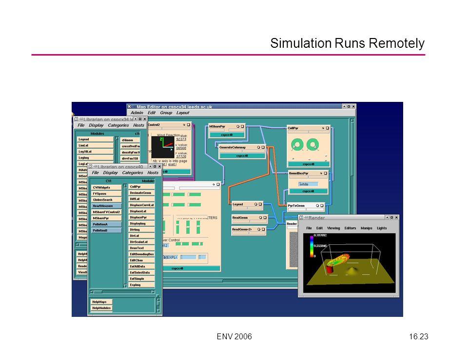 ENV 200616.23 Simulation Runs Remotely