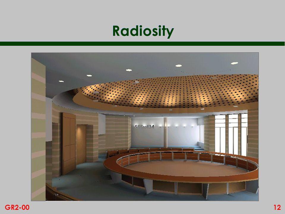 12GR2-00 Radiosity