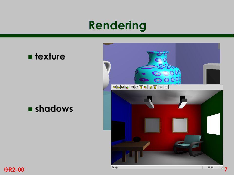 7GR2-00 Rendering n texture n shadows
