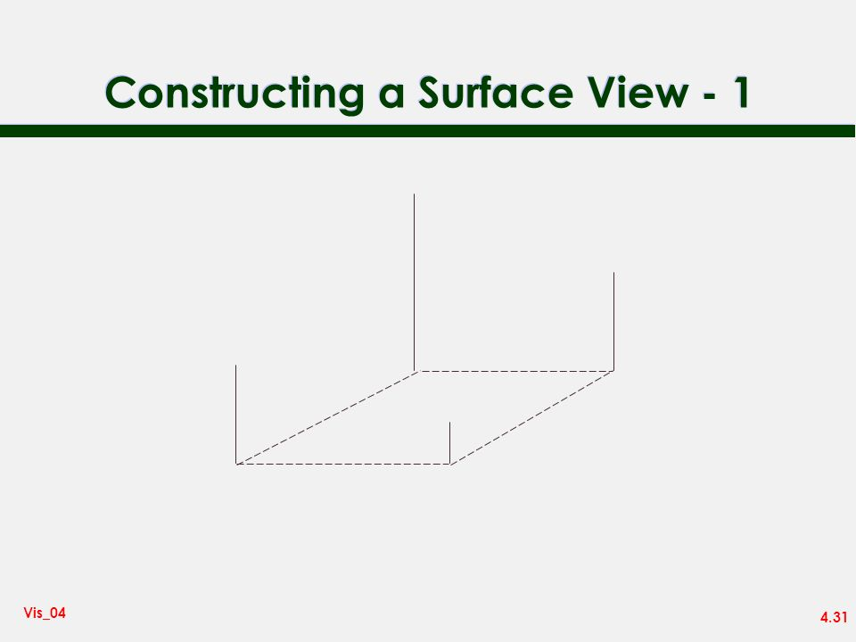 4.31 Vis_04 Constructing a Surface View - 1