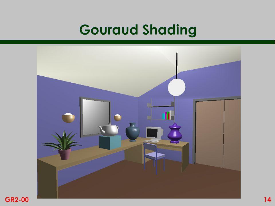 14GR2-00 Gouraud Shading