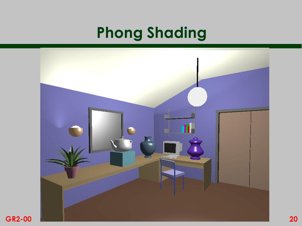 20GR2-00 Phong Shading