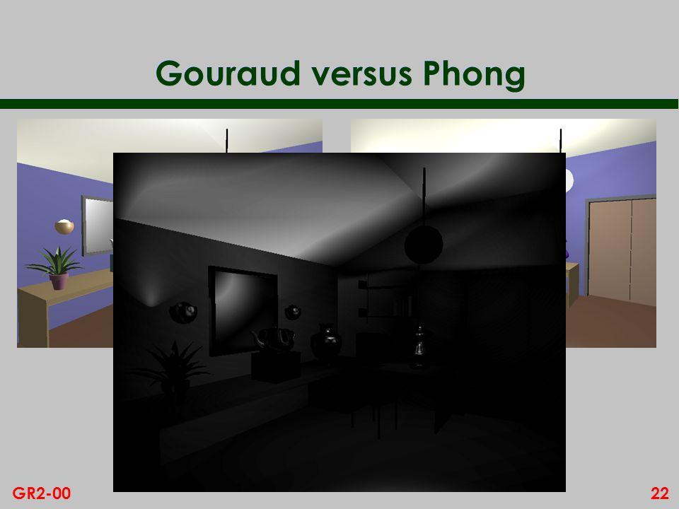 22GR2-00 Gouraud versus Phong