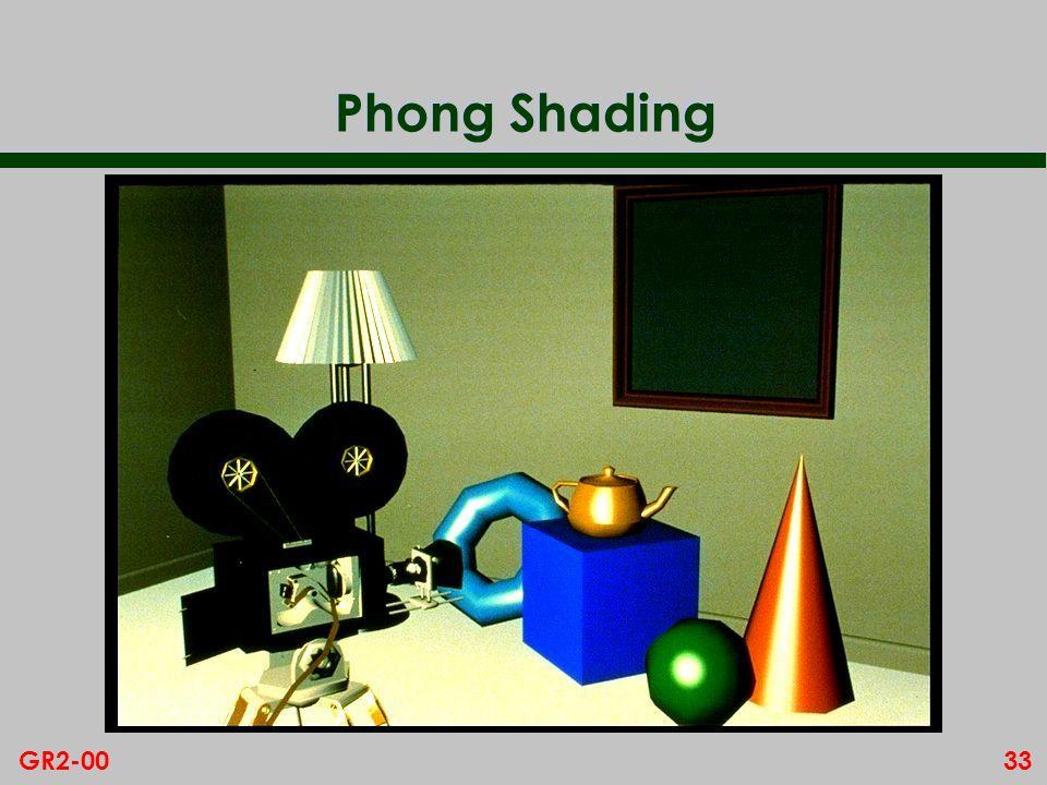 33GR2-00 Phong Shading