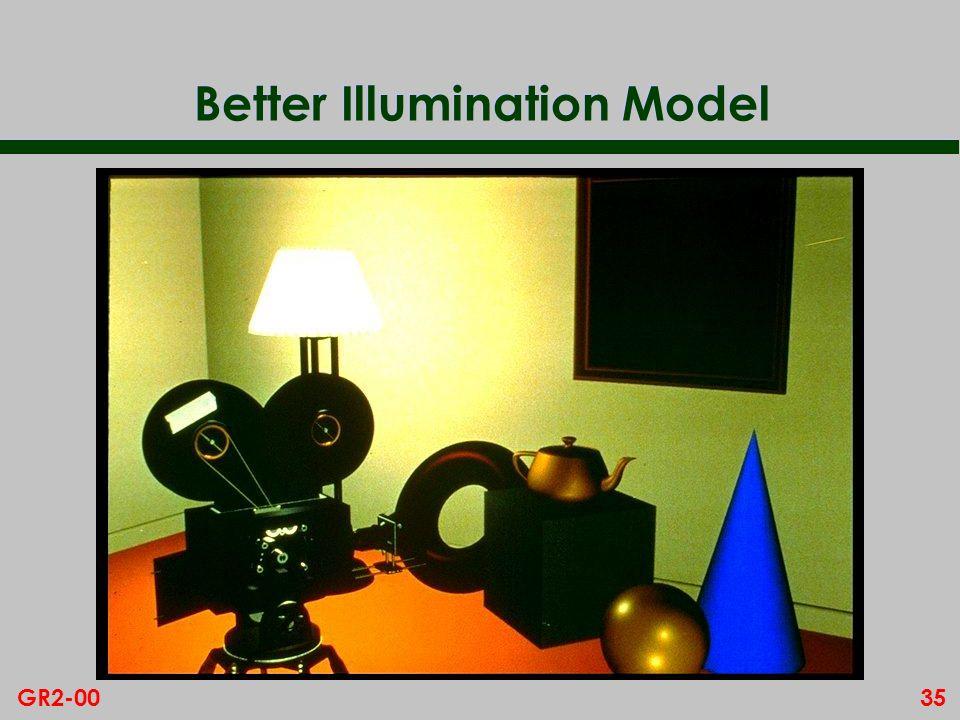 35GR2-00 Better Illumination Model