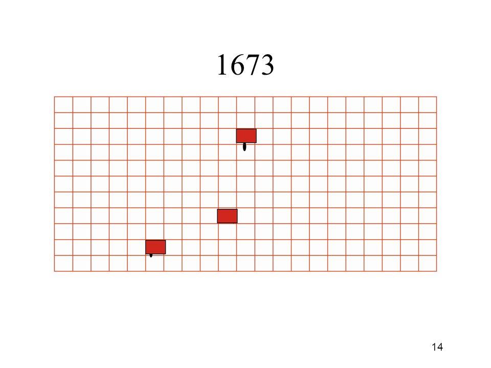 13 1673