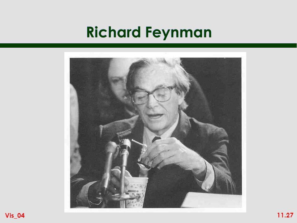 11.27 Vis_04 Richard Feynman