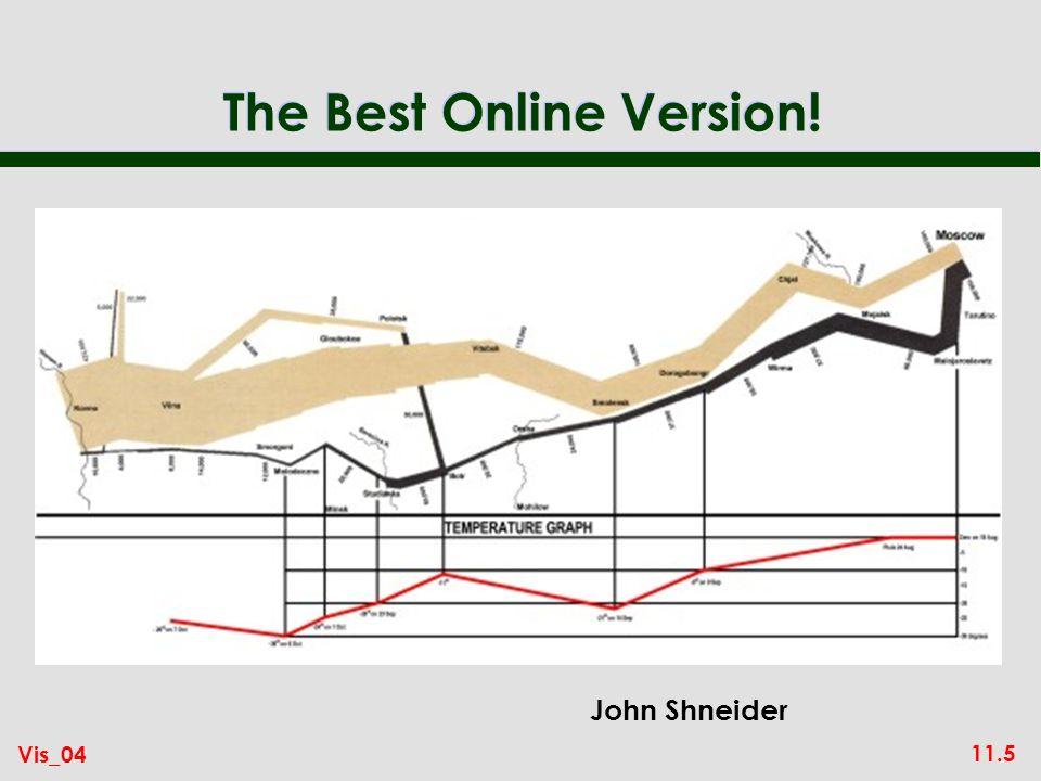 11.5 Vis_04 The Best Online Version! John Shneider