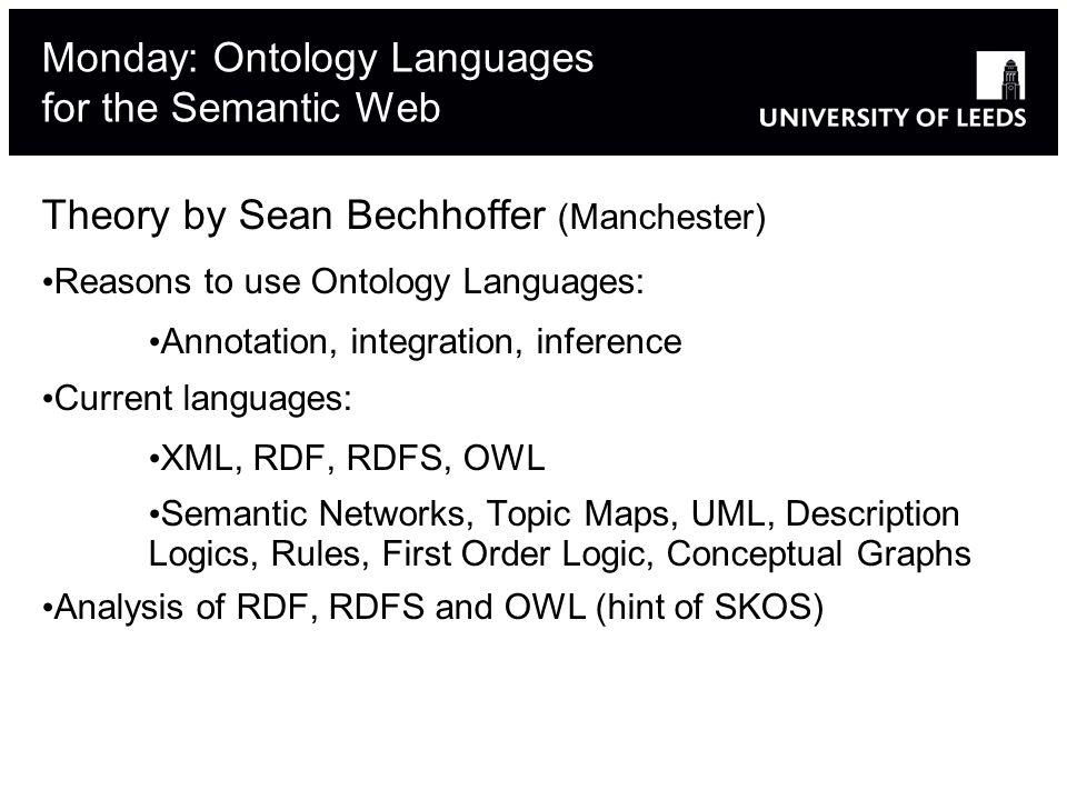 Ontologies and Folksonomies: False Friends Tags don t have semantics (e.g.