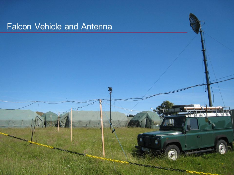 UNCLASSIFIED Integrated System Technologies Falcon Vehicle and Antenna