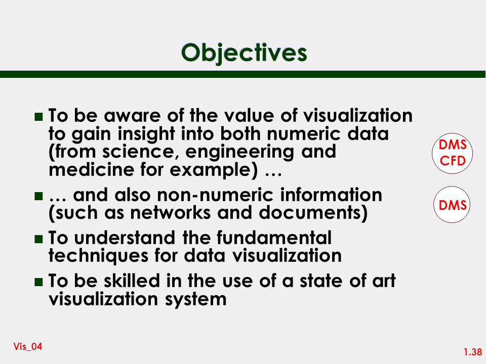 1.37 Vis_04 Books n The Visualization Toolkit (3 rd edition) – W Shroeder, K Martin, W Lorensen – Kitware Inc n Introduction to Volume Rendering – B.