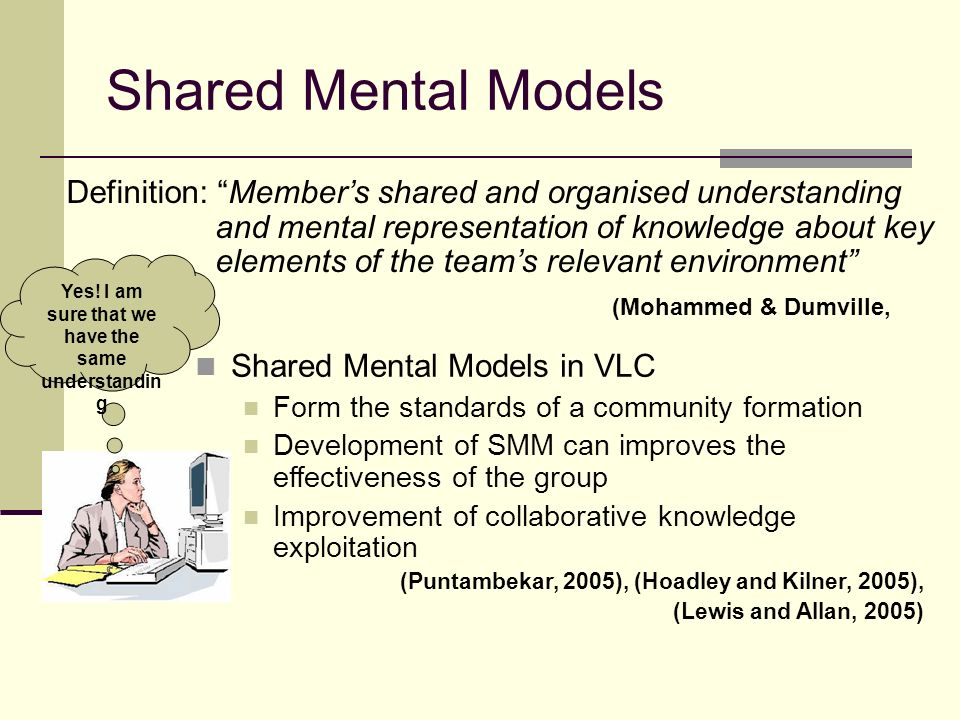 Cognitive Centrality Definition: The greater the degree of overlap between the information a member holds and information other members hold on average, the greater the degree of centrality for that member (Kerr & Tindale, 2004) I know all about the central topic of this community Cognitive Centrality in VLC At different times members from central become peripheral.