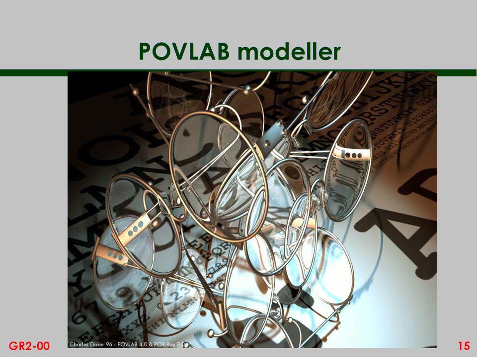 15GR2-00 POVLAB modeller
