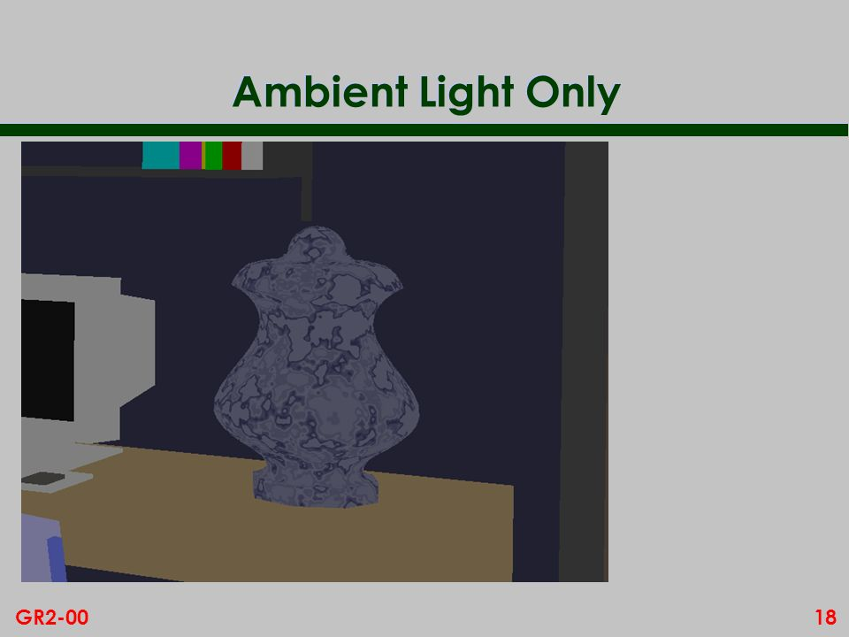 18GR2-00 Ambient Light Only