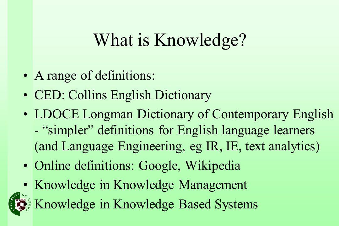 Collins English Dictionary: 1.