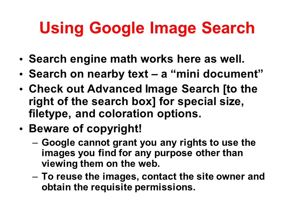 Using Google Image Search Search engine math works here as well.
