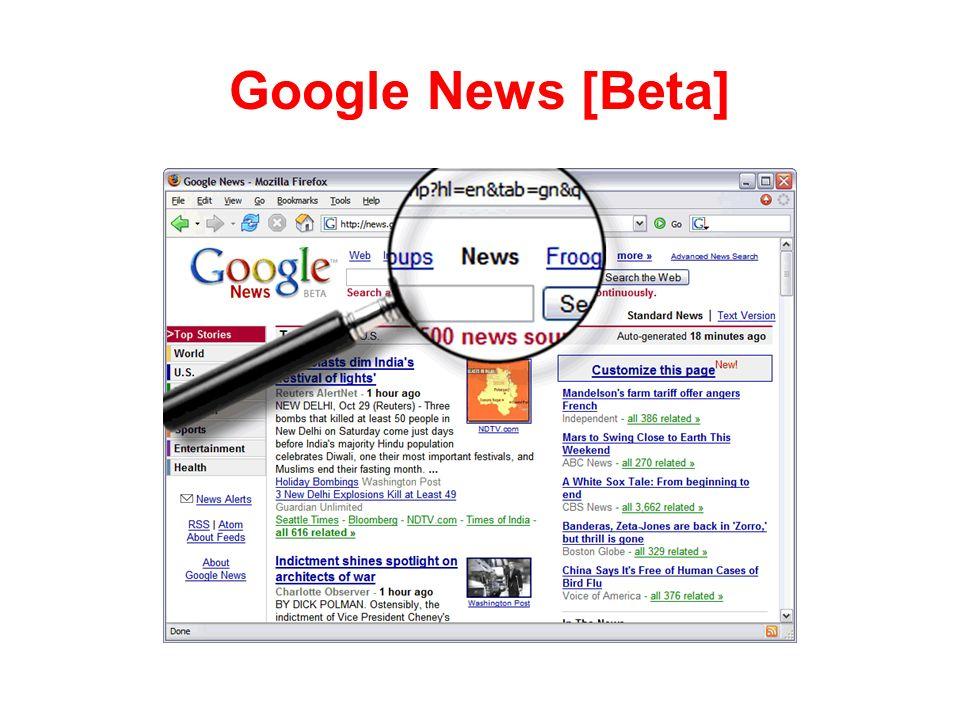Google News [Beta]