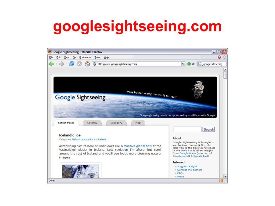 googlesightseeing.com