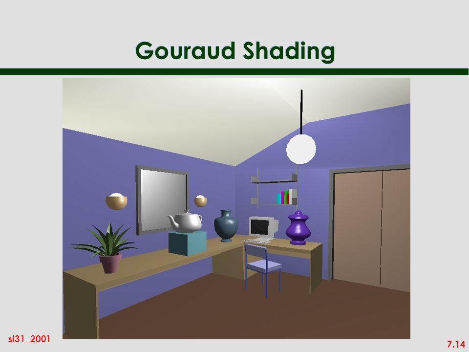 7.14 si31_2001 Gouraud Shading
