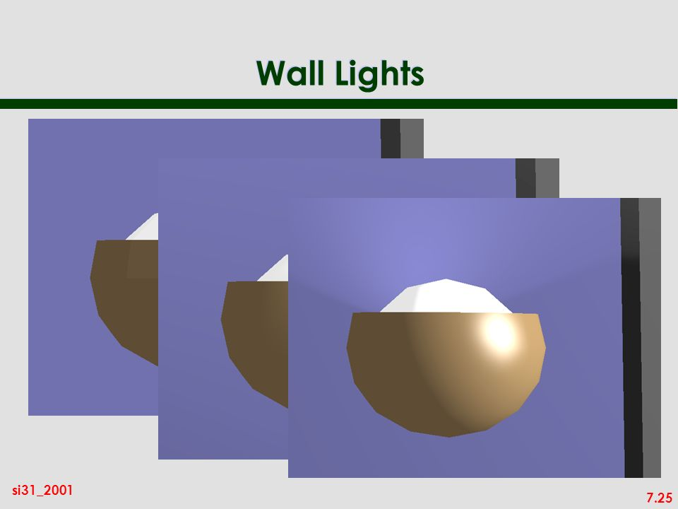 7.25 si31_2001 Wall Lights