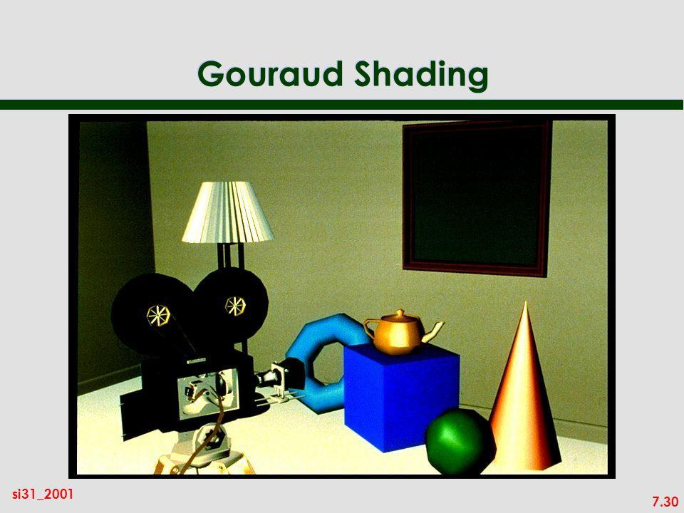 7.30 si31_2001 Gouraud Shading