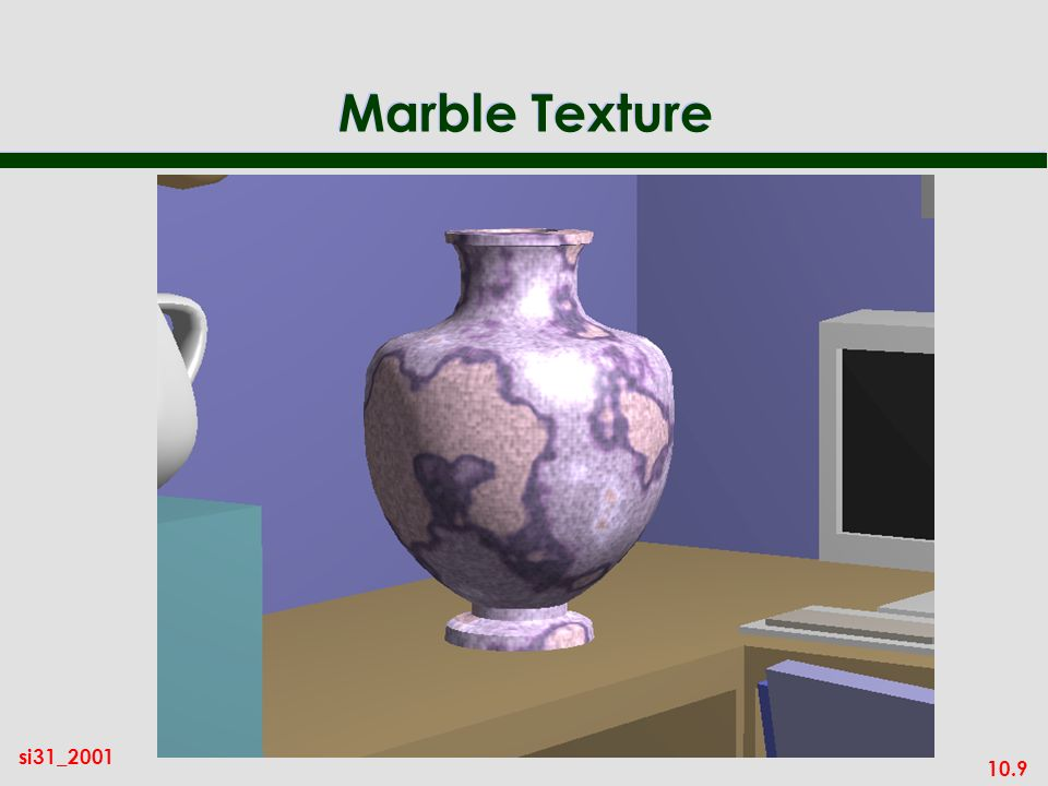 10.9 si31_2001 Marble Texture