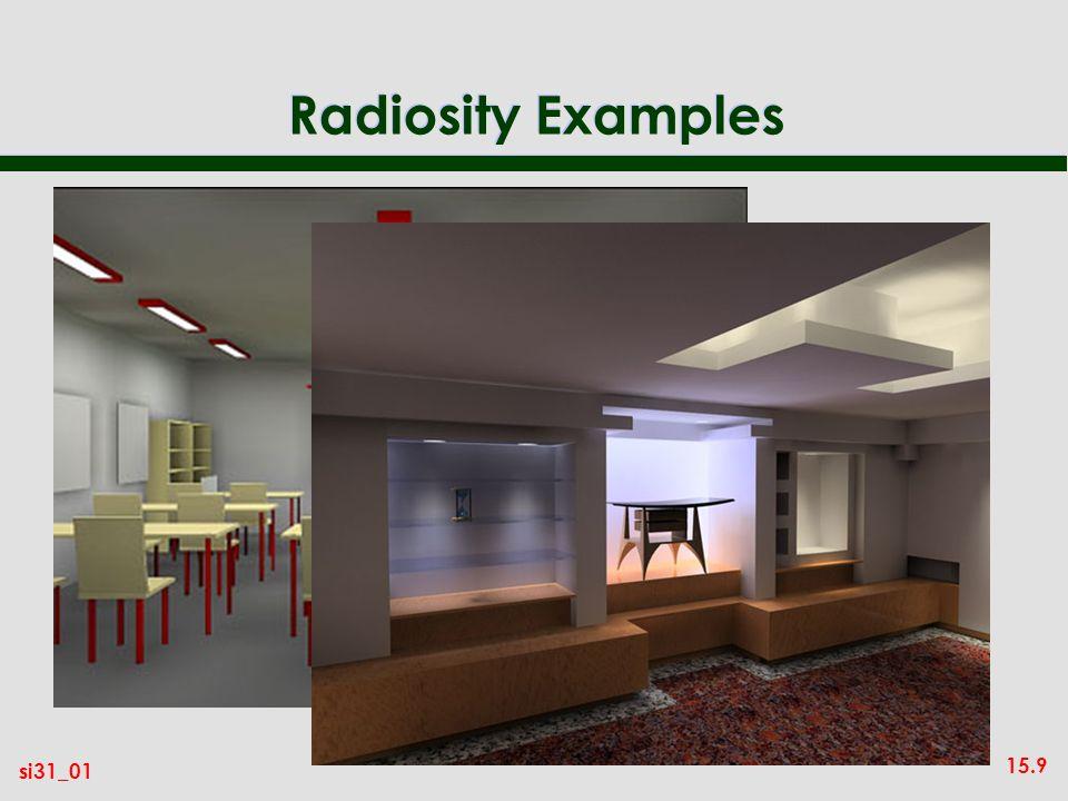 15.9 si31_01 Radiosity Examples