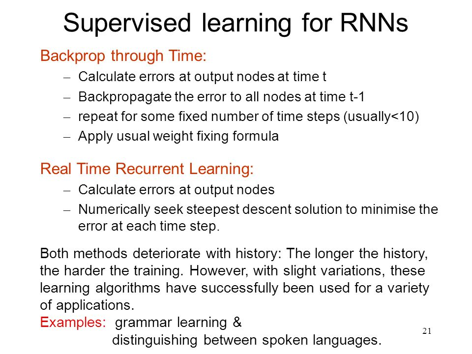 22 RNNs for Time Series Prediction Predicting the future is one of the biggest quests of human kind.