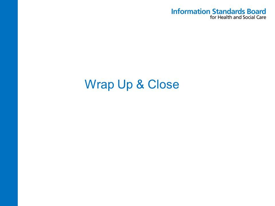 Wrap Up & Close