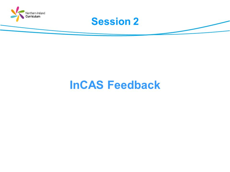 Session 2 InCAS Feedback