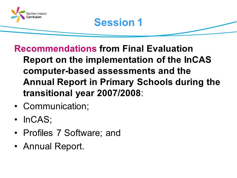 Communication Recommendation 1 Communications..