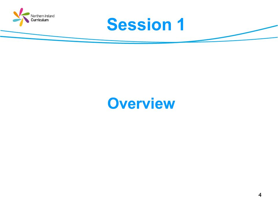 4 Overview Session 1