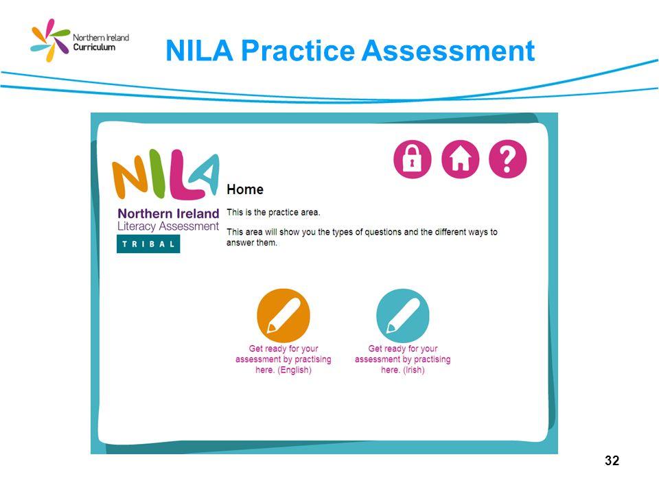 32 NILA Practice Assessment