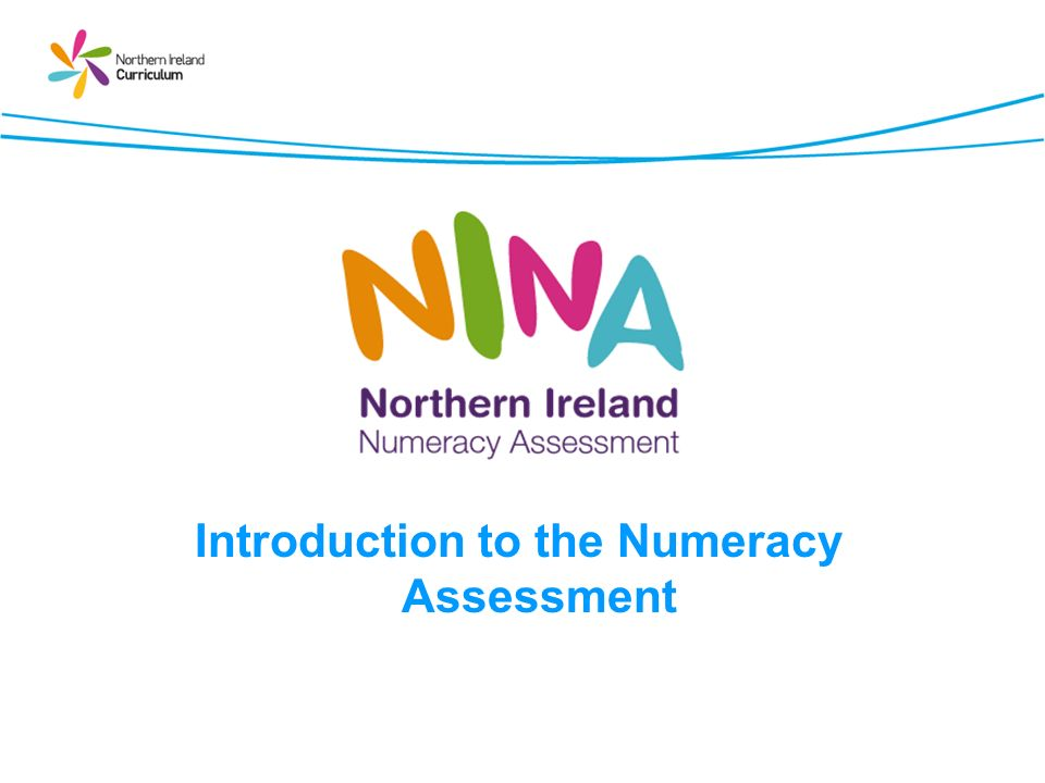 Introduction to the Numeracy Assessment