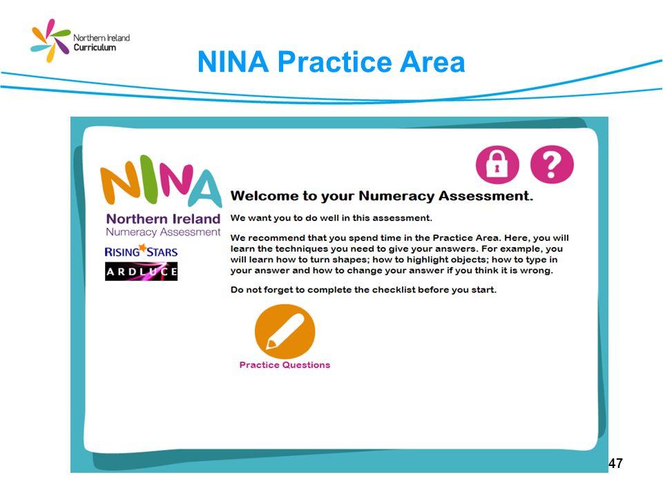 NINA Practice Area 47
