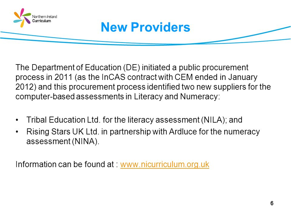 NILA assessment of Reading Focuses on understanding explicit and implicit meanings and how texts are organised.