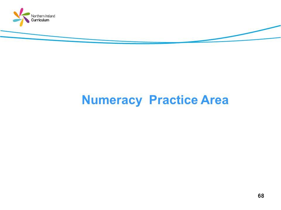 Numeracy Practice Area 68
