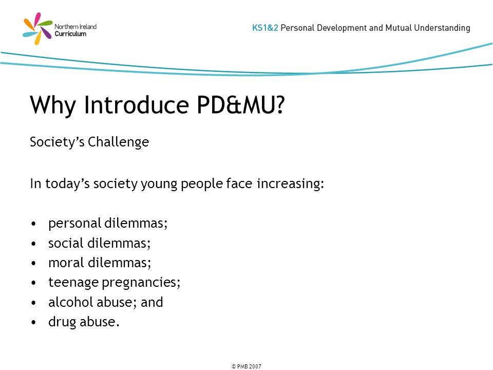 © PMB 2007 Societys Challenge cont.