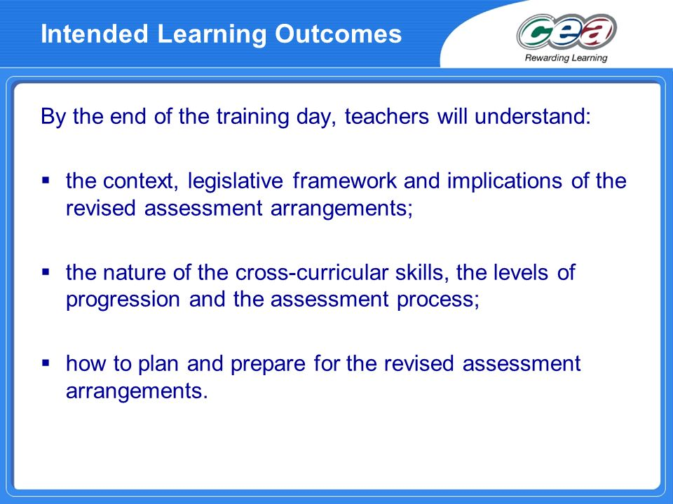 Implications for Learning and Teaching ALL subjects have a statutory responsibility to help pupils acquire and develop skills and capabilities Ongoing part of classroom activity Infused into the context of the subject Formative assessment (assessment for learning) Need for planning