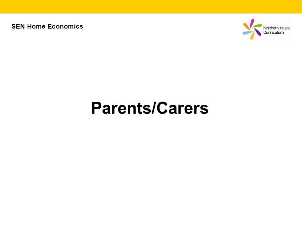 Parents/Carers SEN Home Economics
