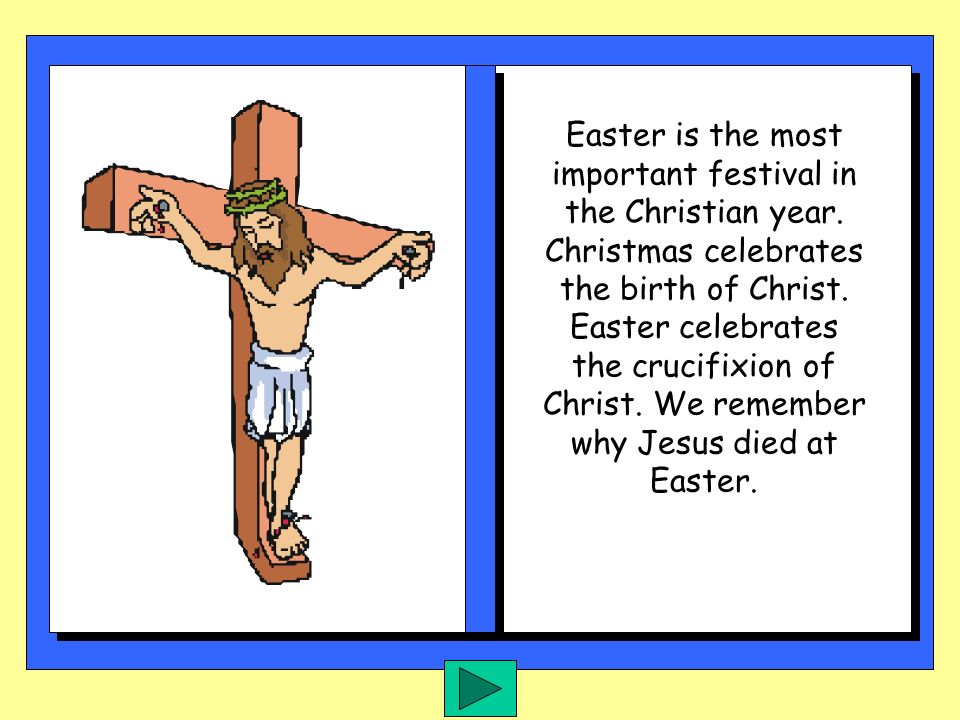 WHAT DOES EASTER MEAN TO YOU ?