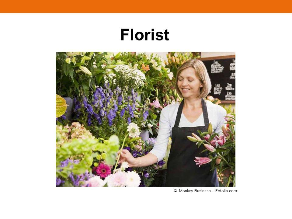 Florist © Monkey Business – Fotolia.com