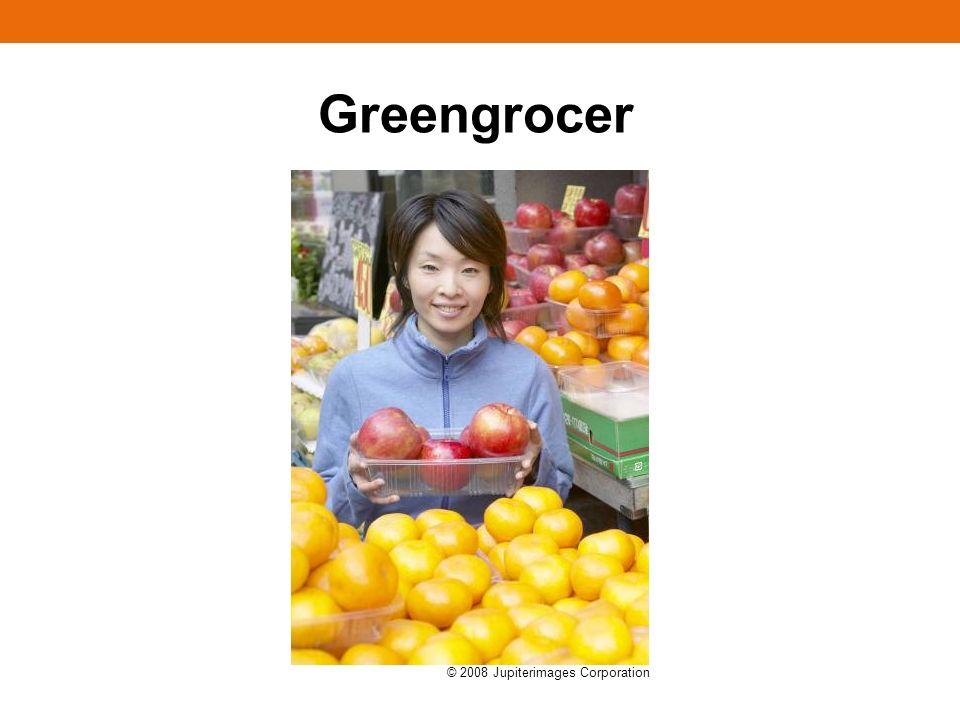 Greengrocer © 2008 Jupiterimages Corporation