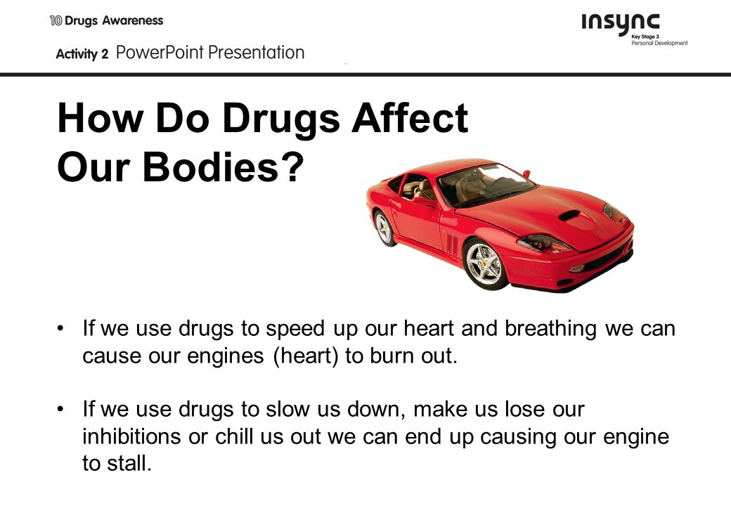 How Do Drugs Affect Our Bodies.